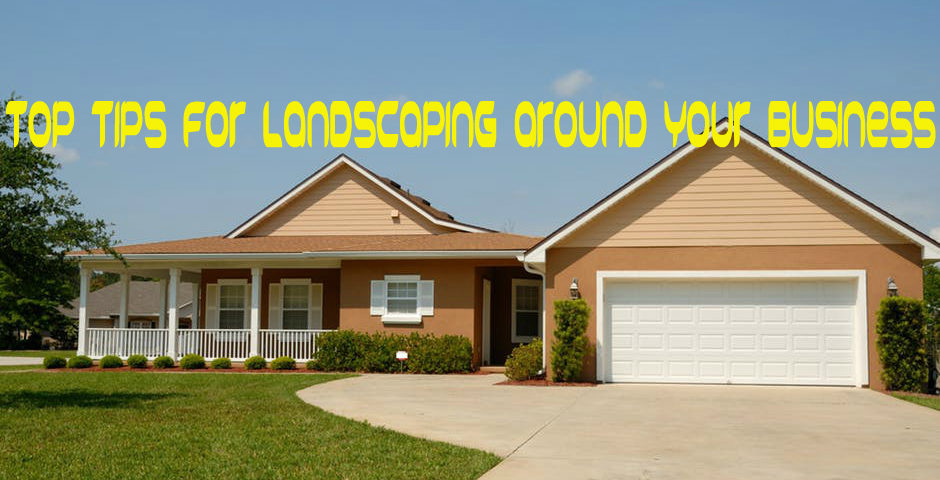 Landscaping Around Your Business