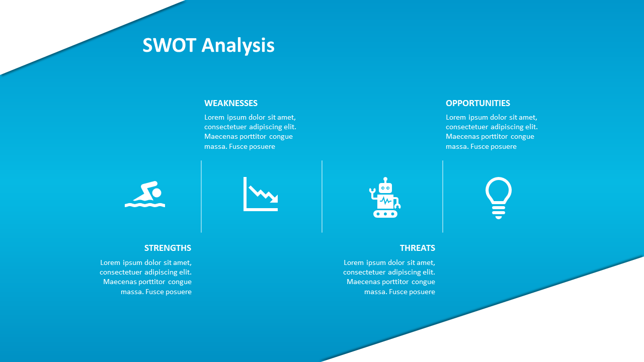 A few Free SWOT Analysis Templates to get you started