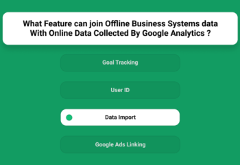 What Feature Can Join Offline Business Systems Data With Online Data Collected By Google Analytics